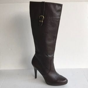 Banana Republic Evie Knee High Leather Boots 9M